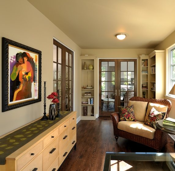 Jacobson Sunroom Office Tile Twin Cities Residential Architect